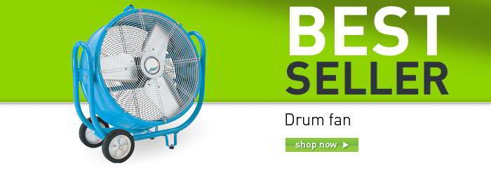 Drum fan banner