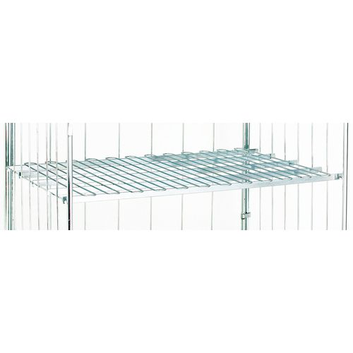 Wire shelf for roll container