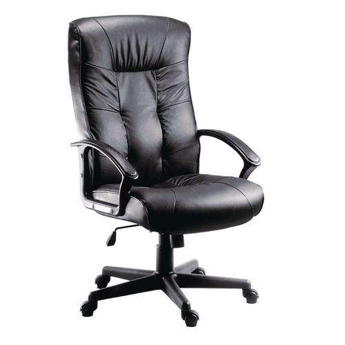 Executive high back leather chair