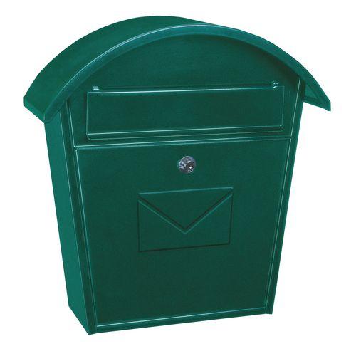 Compact post box - Green