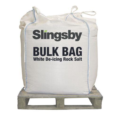 White De-Icing Salt 1 Tonne Bag