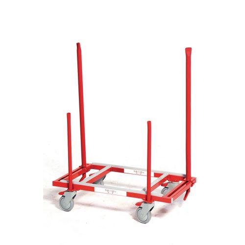 Multi-trolley heavy duty furniture mover