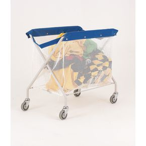 Linen trucks with PVC bags with string mesh bag