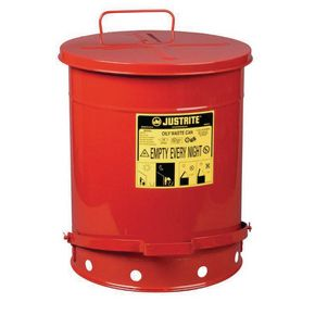 CAN - METAL OILY WASTE - 52.9L