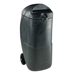 Mobile confidential waste bins
