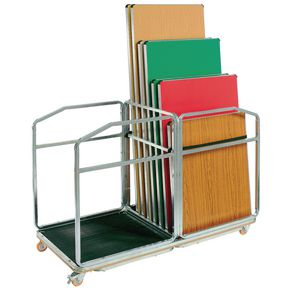 TROLLEY FOR FOLDING TABLES 1655x745x1170mm 16 TABLE CAP.