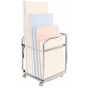 TROLLEY FOR FOLDING TABLES 825x745x1170mm 8 TABLE CAP.