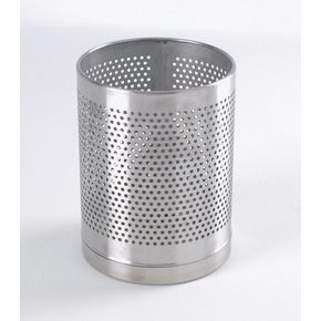 Economy perforated waste bin