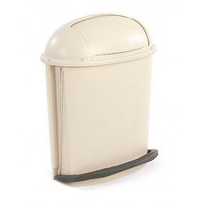 Pedal rolltop bins