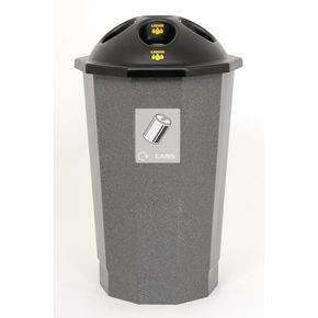 Recycling bank system can