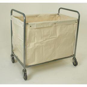 Painted linen truck with cream linen bag