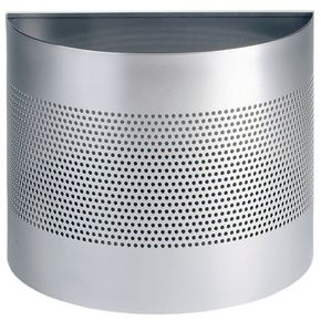 Semi-circle waste bins