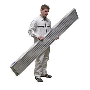 Plank for telescopic platform system