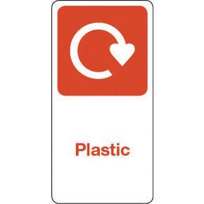 SIGN PLASTIC VINYL ROLL OF 100 - H X W: 100 X 50