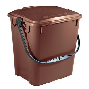 10 LITRE SOLID WALLED KITCHEN CADDY FOR THE COLLECTION OF FOOD WASTE. WI