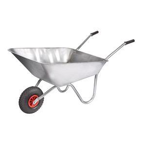 Galvanised 90 litre wheelbarrow