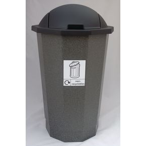 Non-recyclable eco bins