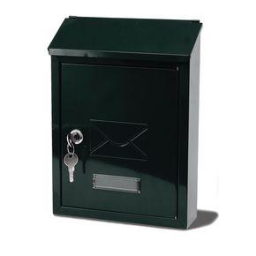 POST BOX AVON BLACK - STEEL H X W X D(MM): 300 X 220 X 75