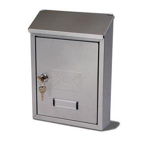 POST BOX AVON SILVER - STEEL H X W X D(MM): 300 X 220 X 75
