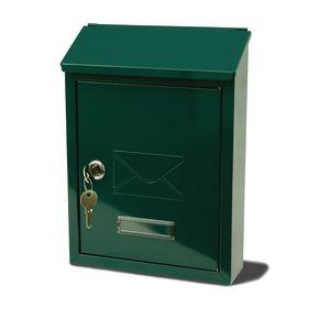 POST BOX AVON GREEN - STEEL H X W X D(MM): 300 X 220 X 75