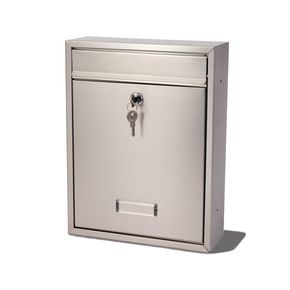 POST BOX TRENT STAINLESS - STAINLESS STEEL H X W X D(MM): 340 X 263 X 90