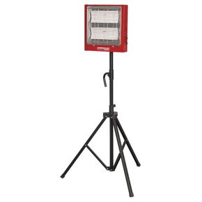 CERAMIC HEATER 1.4/2.8KW 230v WITH STAND
