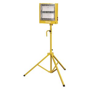 CERAMIC HEATER 1.4/2.8KW 110v WITH STAND