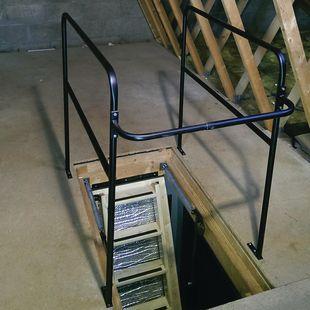 Loft opening ballustrade