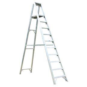 Extra heavy duty aluminium platform steps