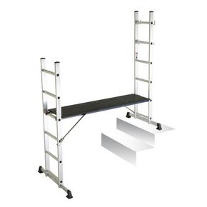 5 way aluminium mini scaffold & ladder