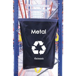 METAL WASTE BLUE RACKSACK PK 10
