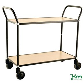 Two tier design service trolley