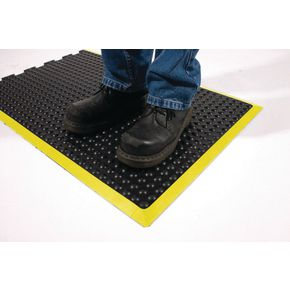 Bubblemat with yellow edge - 0.9m x 1.2m