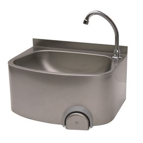 Visualizza prodotto: FRANKE SISSONS KNEE OPERATED  WASH BASIN WITH SPOUT - 382X335X533MM