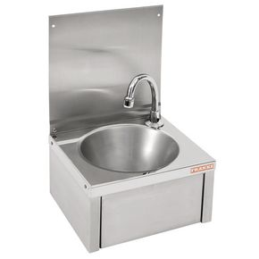 Visualizza prodotto: FRANKE SISSONS KNEE OPERATED  WASH BASIN WITH SPOUT - 305X268X501MM