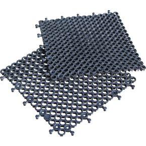 Heavy duty open-grid floor tiles - Pack of 16