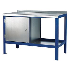 HEAVY DUTY STATIC BENCH 2000 x 600 WITH STEEL TOP