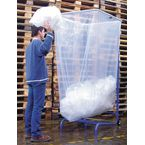 Large capacity bin liner holder
