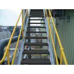 Flooring - Anti-Slip Treads Stair Tread 595X145X30Mm, Bk