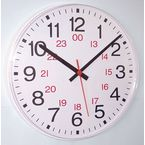 24 hour commercial wall clock