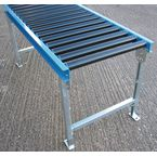 Steel Frames 50Dia Pvc Rollers 600Mm Wide 75Mm Pitch 1.0M Long