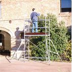 Light duty aluminium work platform - Castor pack sold separately