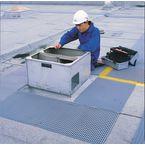 Crossgrip® PVC roof walkway matting
