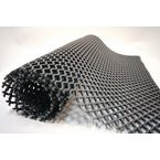 Open weave grid matting