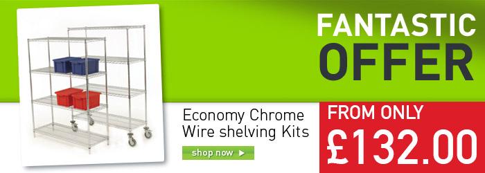Economy Wire Shelving