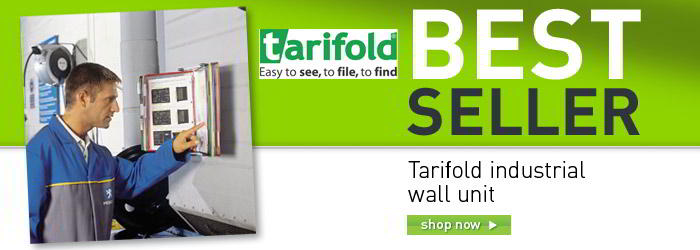 Tarifold industrial wall units banner