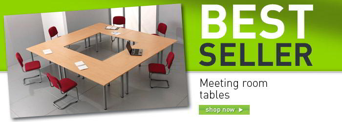 Meeting room tables banner