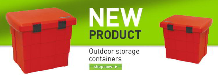 Outdoor storage container