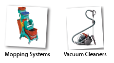 mopping systems and vacuum cleaners - Slingsby