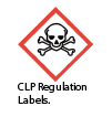 Hazardous Labels available at Slingsby